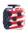 Speelgoed Fidget Cube Amerikaans motief